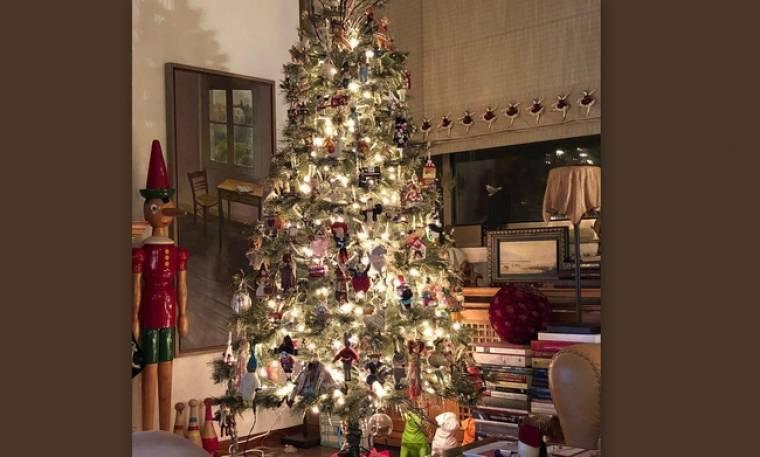 Ένα χριστουγεννιάτικο δέντρο βγαλμένο από παραμύθι- Δείτε σε ποιον ανήκει