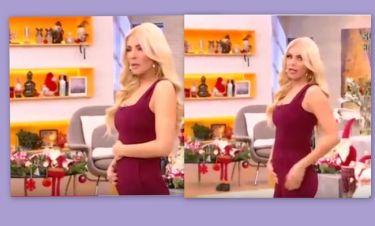 Η κοιλίτσα και το σχόλιο της Καινούργιου: «Ή έφαγα πολύ ή είμαι στις μέρες μου ή είμαι έγκυος»!