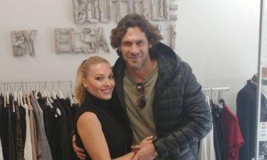 Γιάννης Σπαλιάρας: Πήγε στο Λουτράκι και συνάντησε την καλή του φίλη Έλσα Τόλη