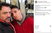 Θάνος Καλλίρης: Για κούρεμα με τον 18χρονο γιο του!