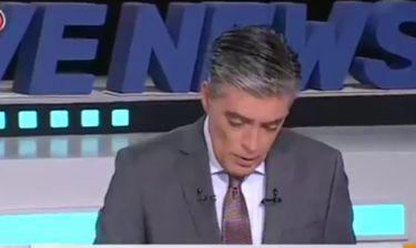Νίκος Ευαγγελάτος: Έτσι αποχαιρέτησε από το δελτίο ειδήσεων τον Δημήτρη Αλειφερόπουλο
