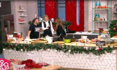 Το πρωινό: Η Βανδή τρύπωσε στην κουζίνα της Σκορδά και δεν ήξεραν ότι ήταν στον αέρα!