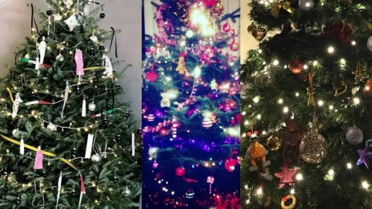 Οι Έλληνες celebrities στόλισαν το Χριστουγεννιάτικο δέντρο τους! Ποιος το στόλισε καλύτερα;