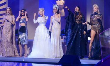 My style rocks:To πλάνο που «καίει» την Ντόστα όταν η Αραβανή λέει το όνομα της Τούνη για τον τελικό