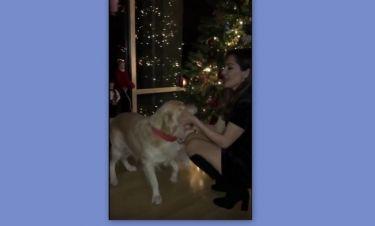 Δέσποινα Βανδή: Το βίντεο μέσα από το σπίτι της ανήμερα τα Χριστούγεννα