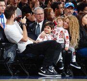Shakira-Pique: Οικογενειακά Χριστούγεννα στην Νέα Υόρκη