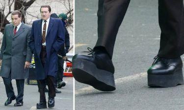 Robert De Niro: Φοράει... πλατφόρμες για να φαίνεται πιο ψηλός