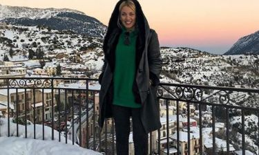 Κωνσταντίνα Σπυροπούλου: Τα Χριστούγεννά της στην Αράχωβα