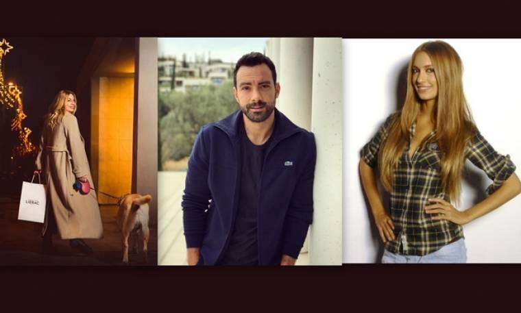 Οι celebrities είναι σε mood Χριστουγέννων στο κέντρο της Αθήνας
