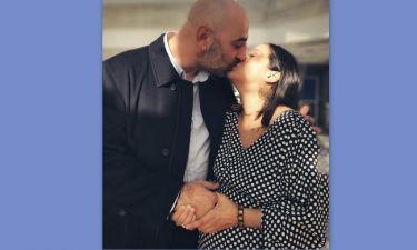 Κατερίνα Τσάβαλου - Δημήτρης Στεργίου: Μόλις παντρεύτηκαν (Οι πρώτες φωτό)