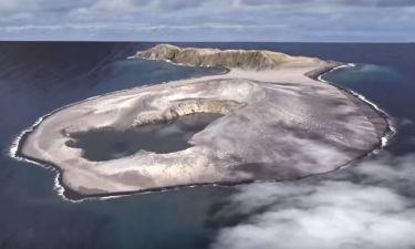 Δείτε πώς δημιουργήθηκε το νεότερο νησί στον κόσμο! (vid)