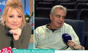 Αλέξανδρος Αντωνόπουλος: «Λυπάμαι που το λέω, αλλά δυστυχώς έτσι είναι...»