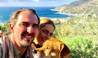 Νικόλαος-Τατιάνα Μπλάτνικ: Διακοπές στην Μάνη