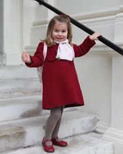 Kate Middleton:  Φωτογράφησε την πριγκίπισσα Charlotte πριν πάει στο σχολείο (φωτο)