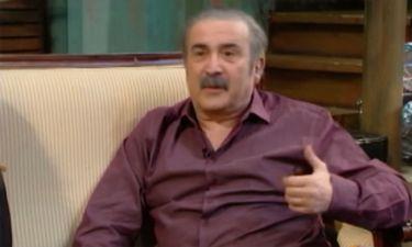 Λάκης Λαζόπουλος: «Ζω σε ένα σπίτι 40 τ.μ., ό,τι είπα το πλήρωσα»