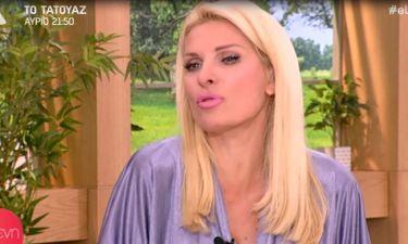 Ελένη: Η είδηση που έμαθε στο καμαρίνι της και «τα έχασε»
