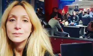 Η οργή της Ναταλί Κάκκαβα: «Μαζευτήκαμε στο Mega για τελευταία φορά... Ντροπή τους»