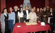 «Πολυτεχνίτης και ερημοσπίτης»:  Έκοψαν την βασιλόπιτα στο θέατρο Αθηνά