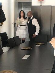 Παντρεύτηκε ο Ησαΐας Ματιάμπα! Δείτε τις πρώτες φωτογραφίες