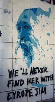 Φόρος τιμής στον Τζίμη Πανούση, λίγες ημέρες μετά τον θάνατό του από καλλιτέχνη του δρόμου!