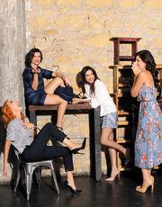 Καταιγίδα: Οι πρωταγωνίστριες  της σειράς μιλούν για τον ρόλο τους