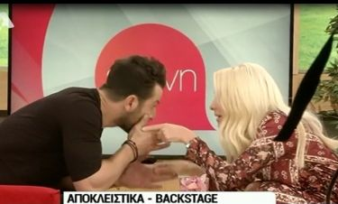 Γιώργος Αγγελόπουλος: Τι έλεγε κρυφά στην Ελένη και τους τσάκωσε η κάμερα;