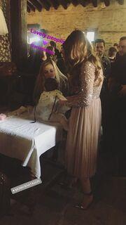 Κώστας Δόξας - Μαρία Δεληθανάση: Βάφτισαν την κόρη τους (Φωτό)