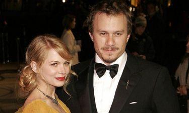 Heath Ledger: 10 χρόνια από το θάνατό του και η Michelle Williams δεν τον ξεχνά (pics)