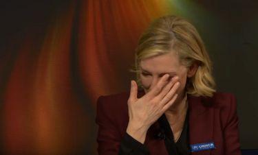 Cate Blanchett: Τα δάκρυά της για τους πρόσφυγες