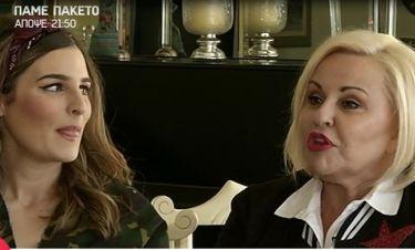 Μπέσσυ Αρυγράκη για την κόρη της «Θέλω να νοικοκυρευτεί το παιδί μου» Πώς αντέδρασε η Εβελίνα;