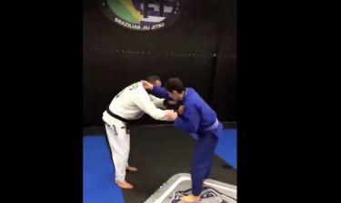Ρουβάς-Κατσινόπουλος: Ξεκίνησαν τις προπονήσεις Brazilian Jiu Jitsu