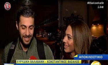 Βαλαβάνη - Βασάλος μιλούν για τη σχέση τους - «Ο Κωνσταντίνος είναι δικός μου! Τρώω παντόφλα…»!
