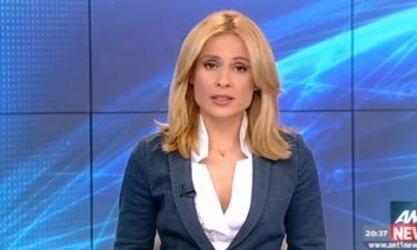 Ρίτσα Μπιζόγλη: Δείτε την παρουσιάστρια του δελτίου ειδήσεων του ΑΝΤ1 εντελώς αμακιγιάριστη