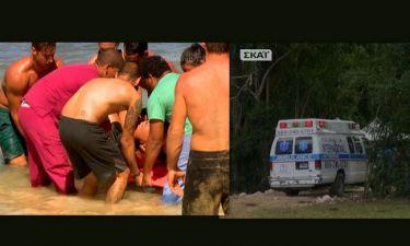 Survivor 2: Τραυματίστηκε παίκτρια των Διασήμων – Μεταφέρθηκε με ασθενοφόρο στο νοσοκομείο