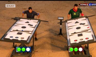 Survivor 2: Το έπαθλο φαγητού από το mini game κέρδισαν οι…