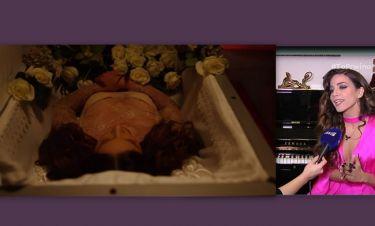 Κατερίνα Στικούδη: Απαντά για τις αντιδράσεις που προκάλεσε το τραγούδι της «Ενθάδε Κείται»