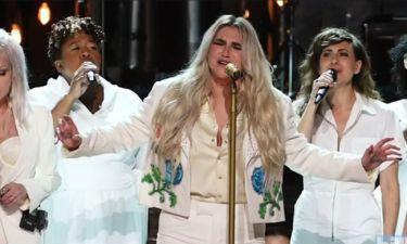 Η συγκλονιστική εξομολόγηση της Kesha στα Grammy