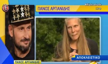 Survivor: Αργιανίδης: «Δεν έγινε τίποτα με τη Σάρα. Δε θέλω να την εκθέσω…Στεναχωρήθηκε!»