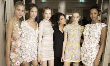 Σήλια Κρηθαριώτη: Το fashion show και η συγκίνησή της