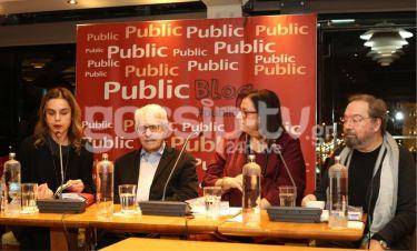 Ο Μίμης Ανδρουλάκης παρουσίασε το νέο του βιβλίο