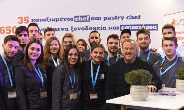 Το «ΙΕΚ ΑΚΜΗ» πρώτο σε αριθμό μεταλλίων στον Πανελλήνιο Διαγωνισμό Μαγειρικής GREEK CHEF 2018