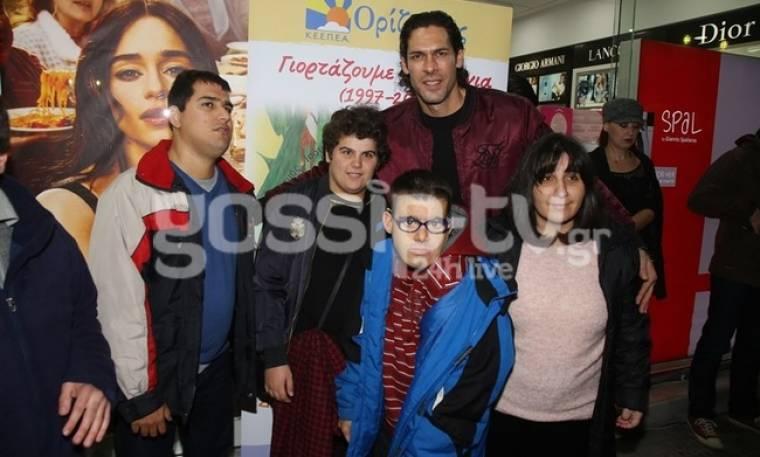 Γιάννης Σπαλιάρας: Στηρίζει το Κέντρο Ειδικής Εκπαίδευσης Παιδιών με Ειδικές Ανάγκες «Ορίζοντες»