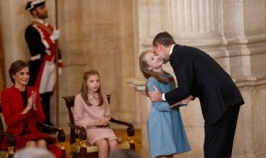 Ο βασιλιάς Φελίπε της Ισπανίας εξήγησε στην κόρη του πως θα γίνει βασίλισσα