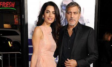 Πόσος καιρός; George Clooney και Amal Alamuddin σε μία σπάνια εμφάνιση τους μετά από μήνες