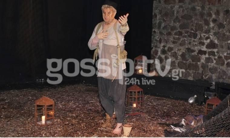 Η «Ελλαδογραφία» του Γιάννη Βούρου έκανε πρεμιέρα στο θέατρο Αλκμήνη