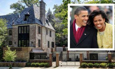 Αυτό είναι το νέο σπίτι του Barack & της Michelle Obama - Δείτε εικόνες που θα σας αφήσουν άφωνους