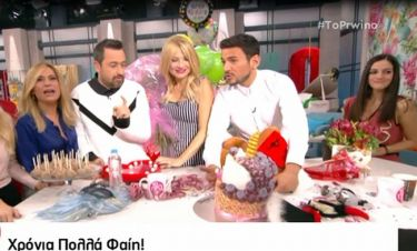 Σκορδά: Η τούρτα- έκπληξη και τα κεράκια που δεν έσβηναν με τίποτα!