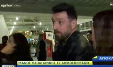 Παπαγιάννης: Η δημοσιογράφος τον τρέλανε στις ερωτήσεις και δείτε την αντίδρασή του