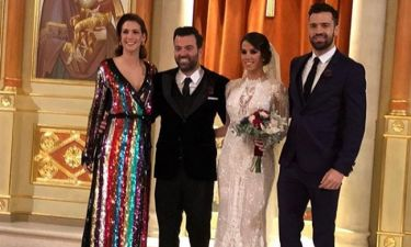 Θοδωρής Γκιώνης: Παντρεύτηκε ο κομμωτής των celebrities με κουμπάρο, τον Κωνσταντίνο Αργυρό