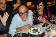 Ο Χάρης Γρηγορόπουλος γιόρτασε με φίλους τα γενέθλια του
